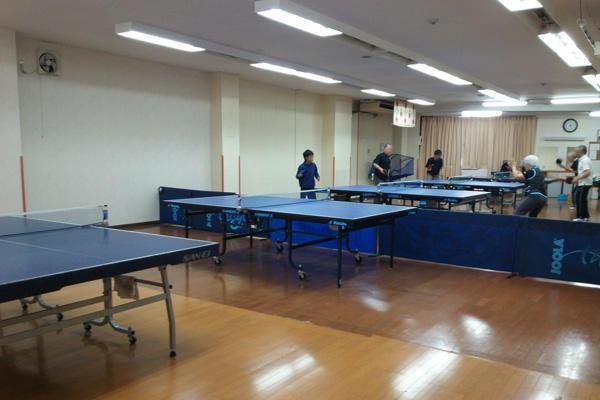 柏・新田原卓球場