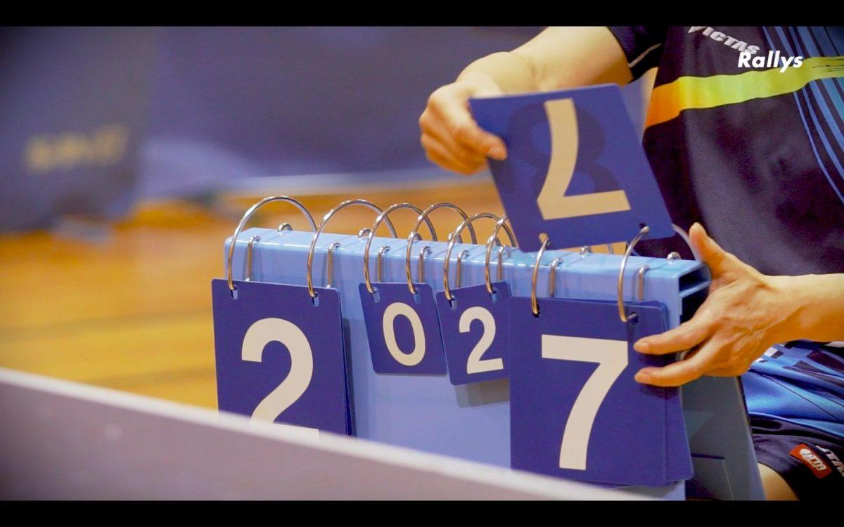 【頭で勝つ!卓球戦術】格上の相手に勝つために有効な考え方とは