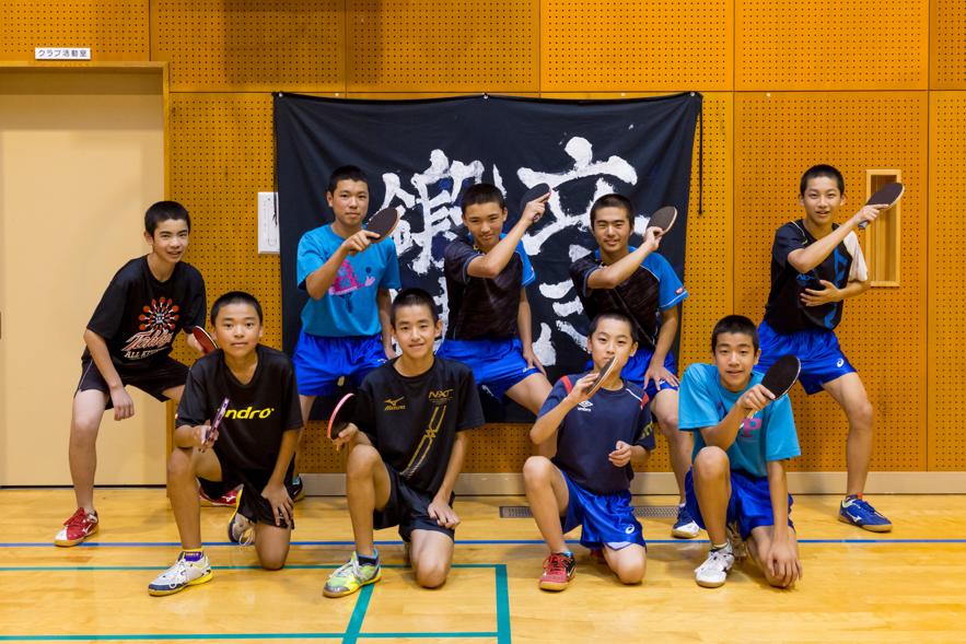 部員9人でも勝てる!佐賀の山奥に「伝統の卓球強豪校」があった