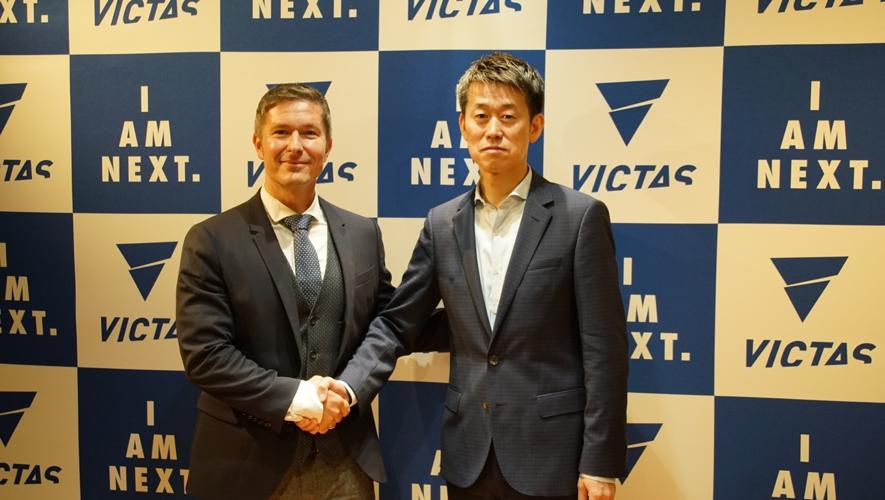 新生メーカー・VICTAS、独の選手育成機関と提携 「世界チャンピオン輩出する」
