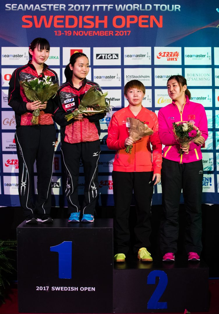 伊藤・早田ペアが最強中国ペアを破り優勝。石川もベスト4入り【ITTFスウェーデンオープン・大会レポート】