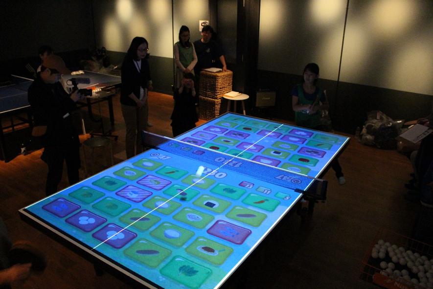 デジタル×卓球×食育のイベント『ヘルシーキッズ健康卓球 in 渋谷』がT4で開催