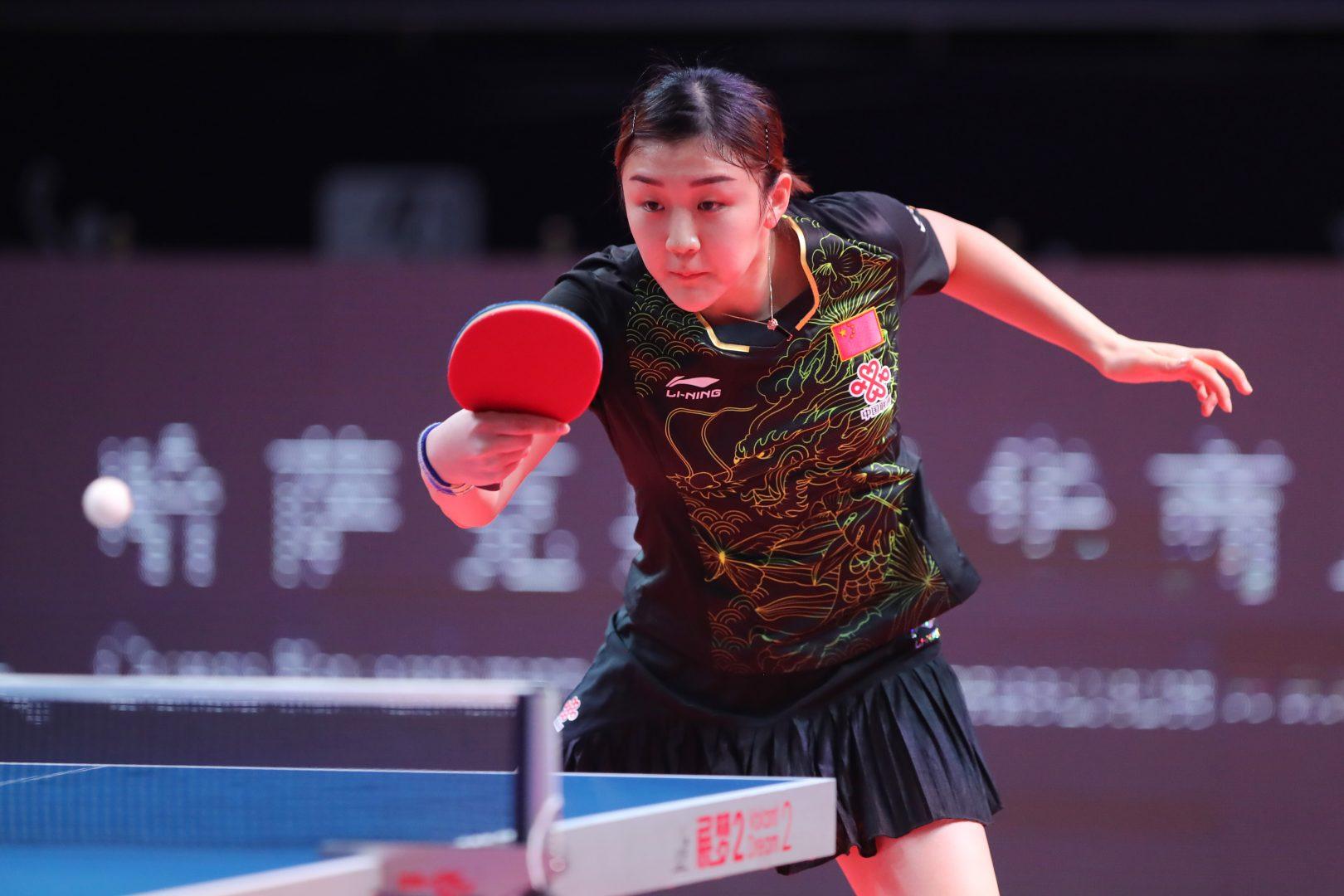 陳夢が朱雨玲に圧巻のストレート勝ちで優勝【ITTFワールドツアーグランドファイナル】(女子シングルスの結果)