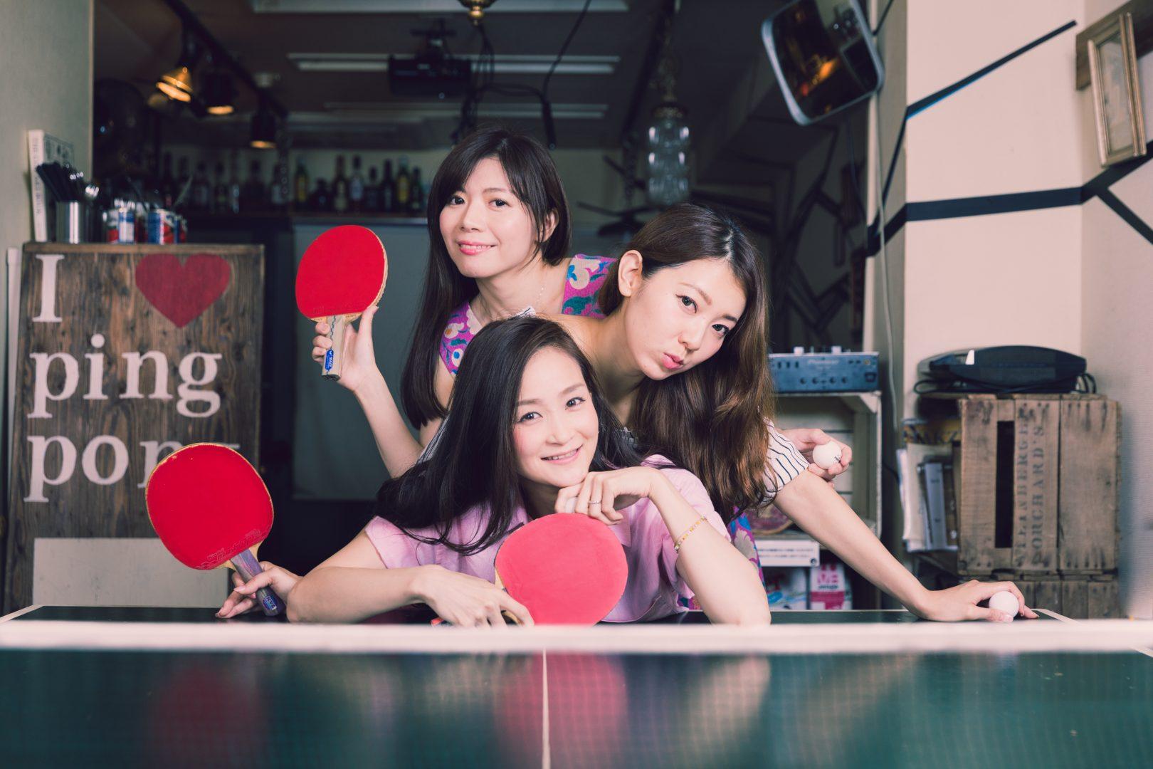【卓球をもっと可愛く♡】pingQによる卓球ライフ提案コーナー「卓カワ」