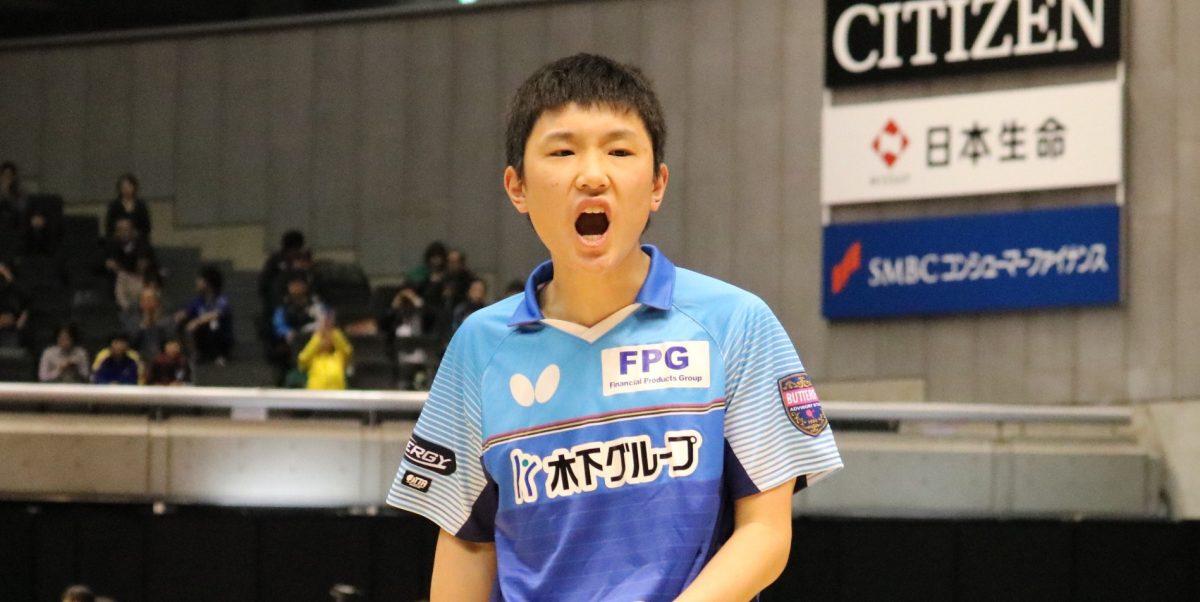 全日本卓球2018 史上最年少優勝!張本智和