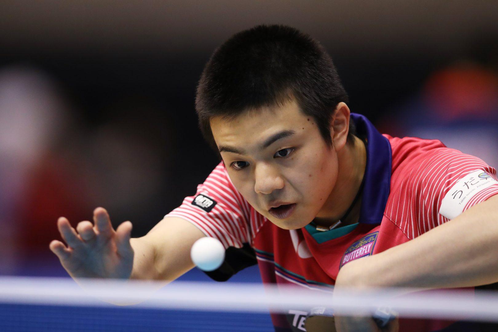 張本の同年代ライバル、宇田幸矢が好発進【ITTFワールドツアー・香港オープン男子結果】
