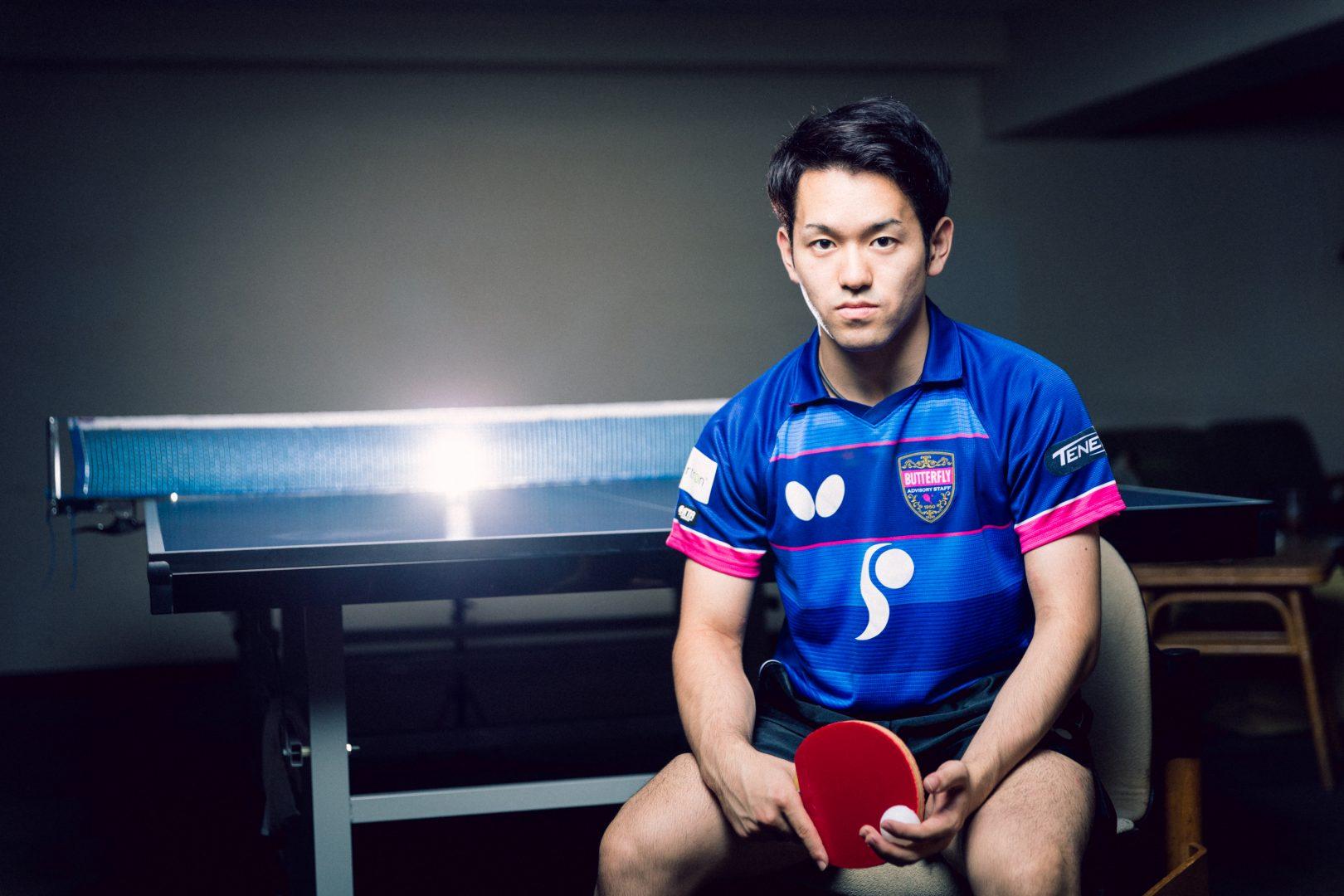 張本コーチの愛弟子・及川瑞基 「スピード×思考」の卓球で世界へ挑む