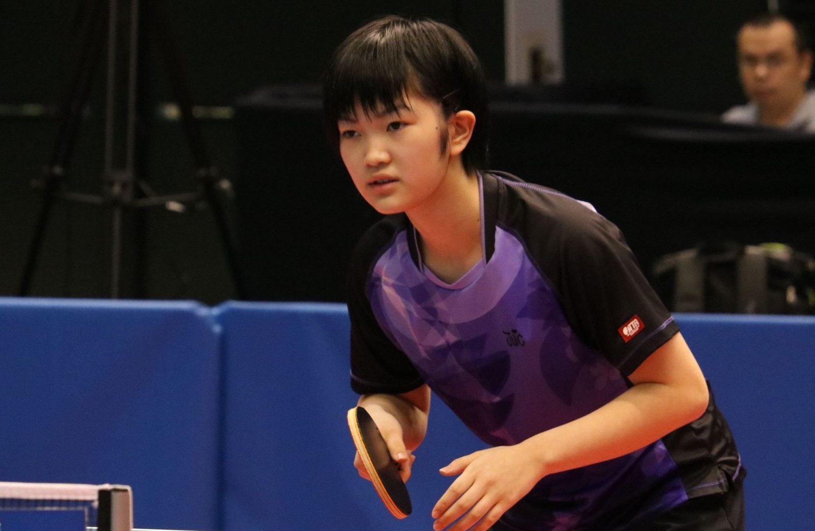 【特集:東京2020期待の星】張本よりも一つ年下の13歳、女子注目の木原美悠