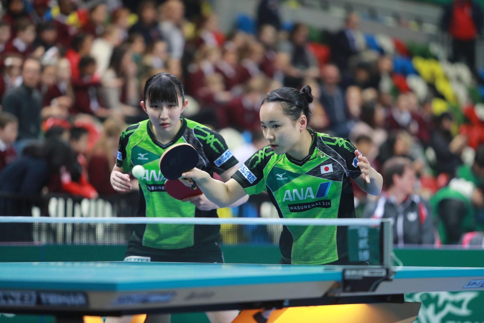 卓球女子、美宇抜きでグループリーグ1位通過へ 【ITTFチームワールドカップ2018】(大会初日の結果)