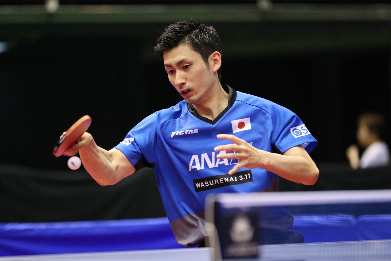 卓球W杯で活躍の上田仁がプロ宣言  Tリーグ参戦に向け実業団から転身
