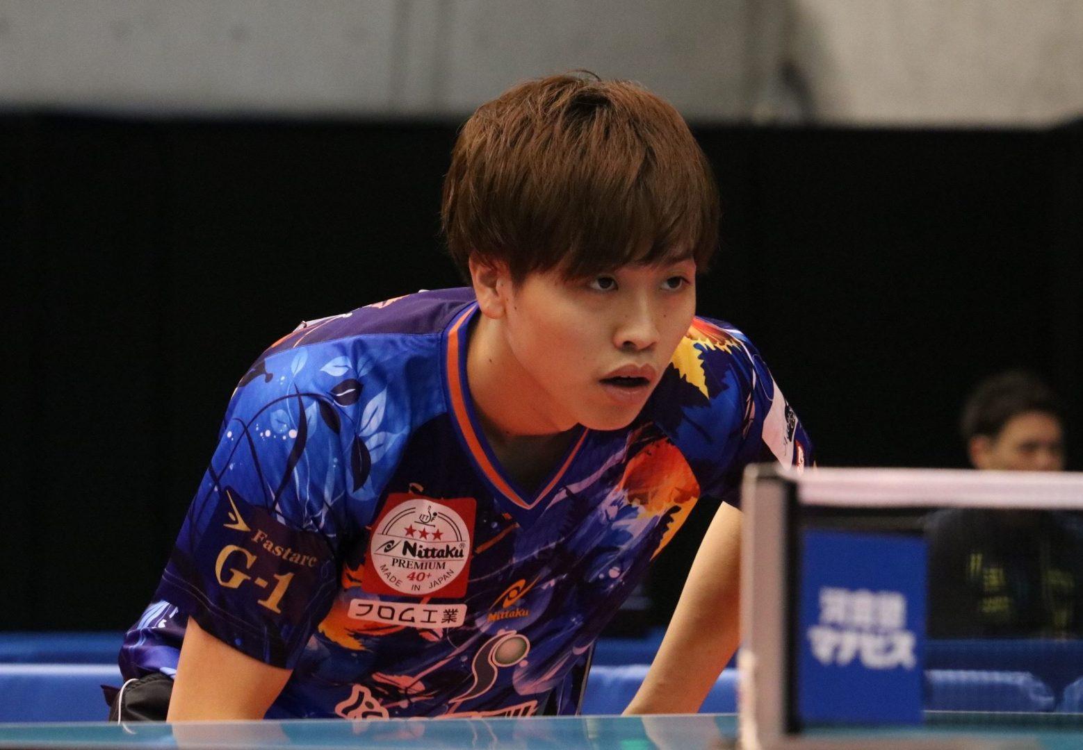【特集:東京2020期待の星】張本・水谷らとチームメイトに 専大卒業の田添健汰はTリーグで活躍なるか