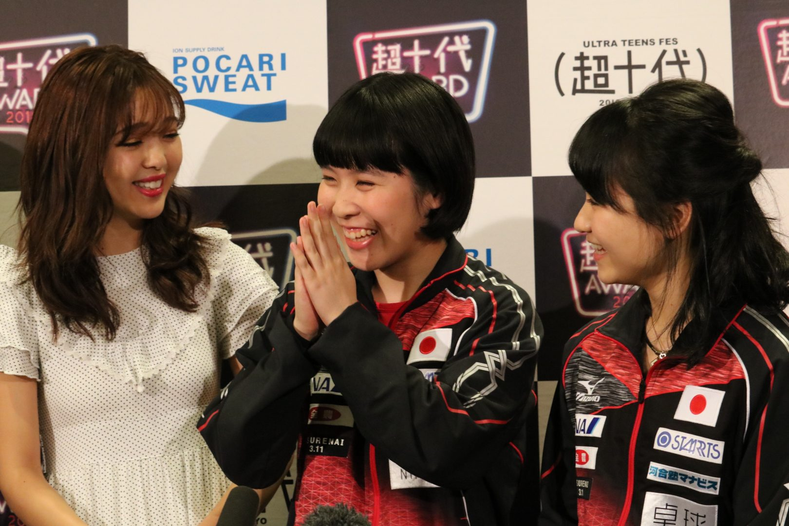 「みう・みま」 10代向けイベントに登場 藤田ニコルと女子トーク