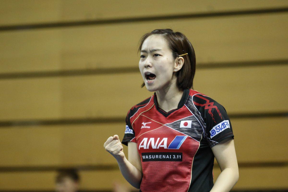 チームW杯で活躍の石川佳純  世界3位に浮上 |卓球世界ランキング女子(3月最新発表)