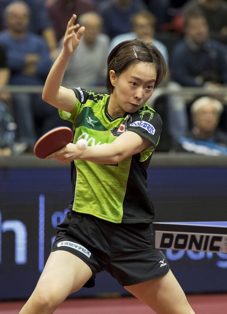 石川佳純が中国選手を破り8強入り。水谷や丹羽も5日目へ【ドイツオープン・4日目の結果】