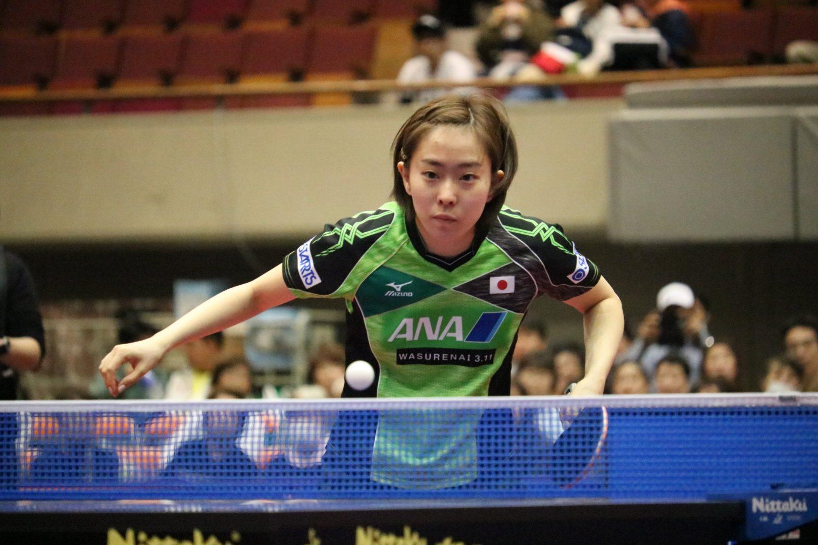 石川佳純が3位決定戦へ【アジアカップ・女子・大会2日目の結果】