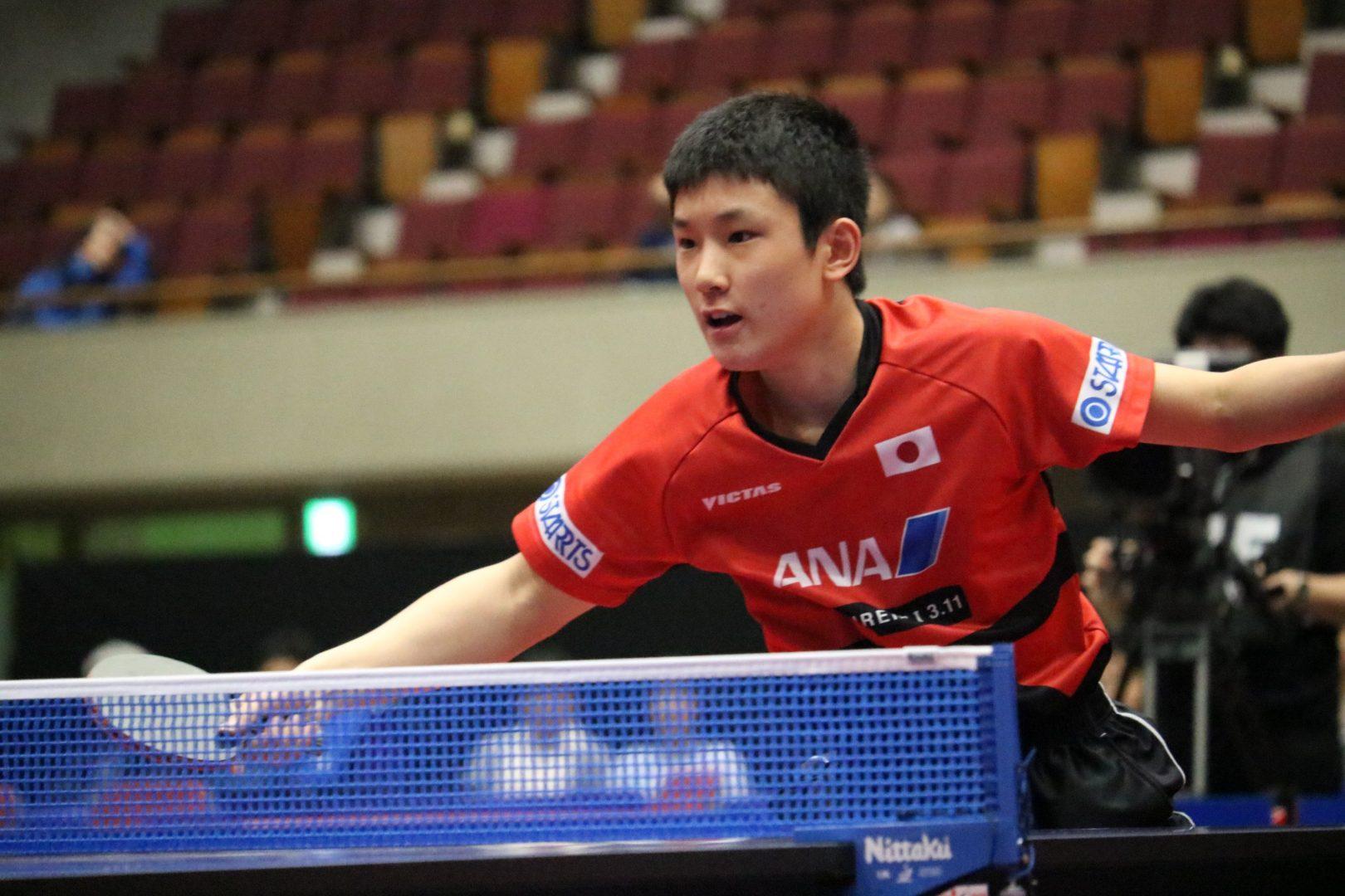 張本・丹羽は5位-6位決定戦へ【アジアカップ・男子・大会2日目】