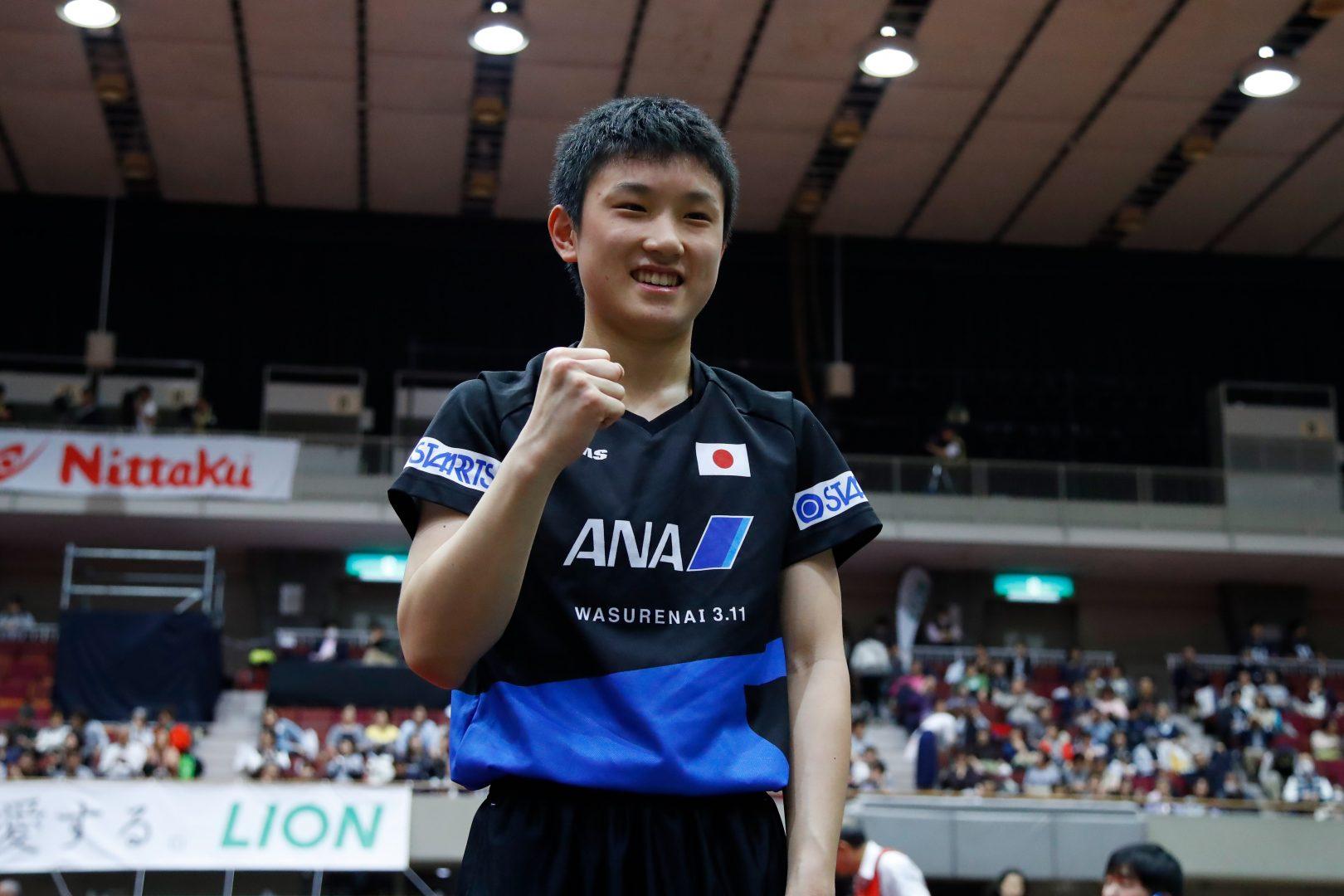 張本智和が元世界王者・張継科と6/1に対戦【卓球・ITTF中国オープン男子2日目の結果】