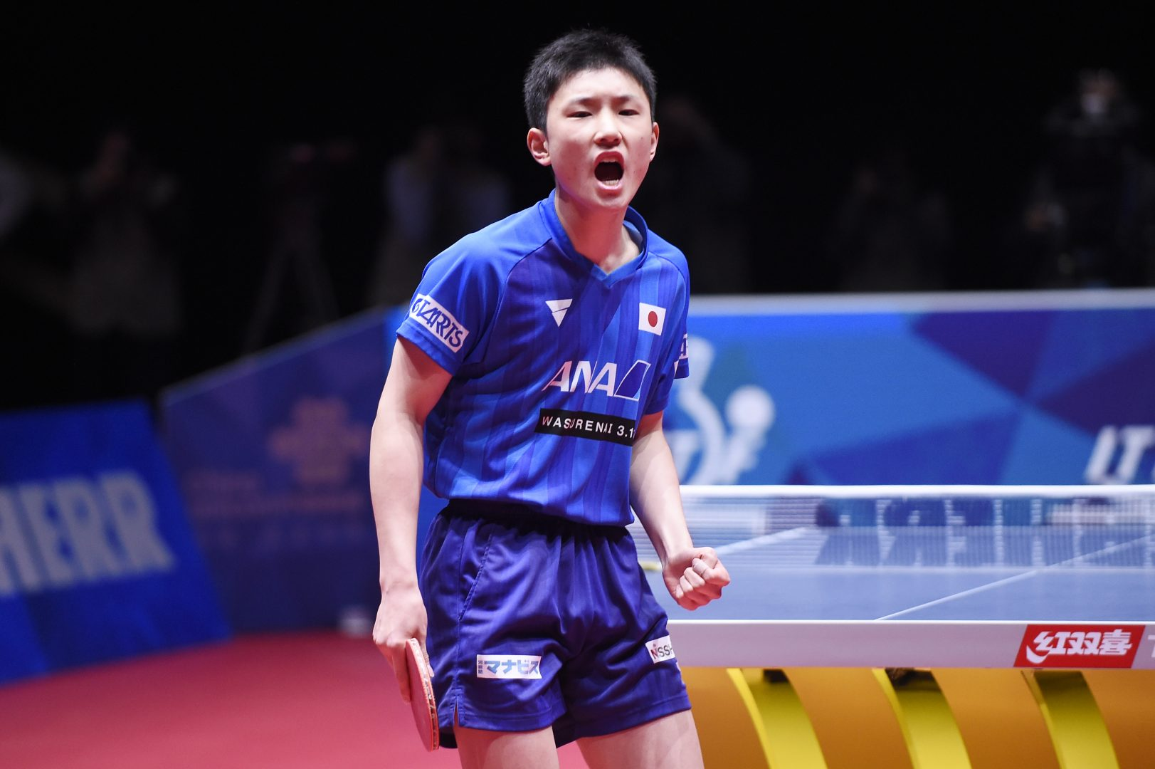 日本男子初戦  ベルギーを寄せ付けず圧勝【世界卓球2018】