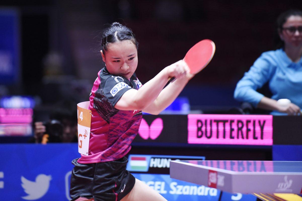 世界卓球女子予選第3戦で好調の伊藤(スターツSC)