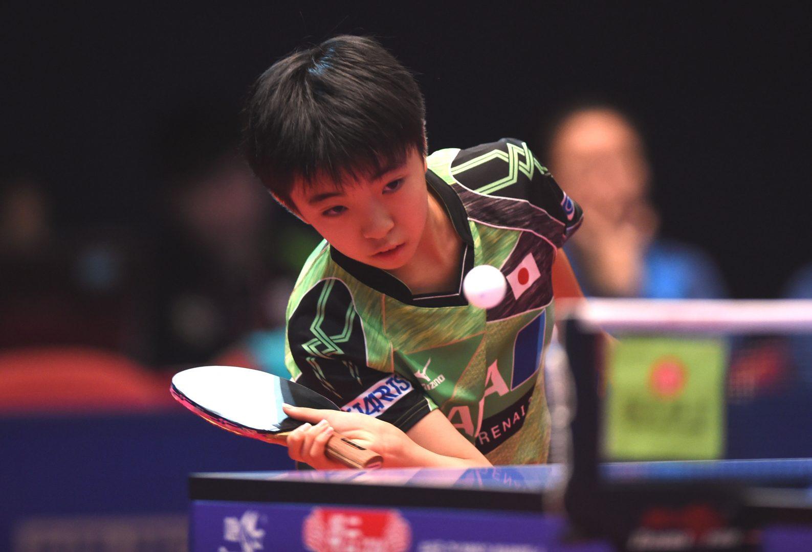 12歳の新星がシニアを圧倒 快調な滑り出し【ITTFチャレンジ・タイオープン結果】