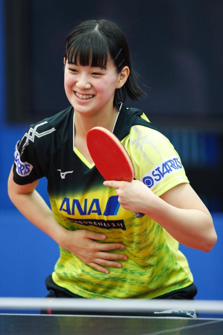 15歳長崎美柚、世界卓球後初ツアーで白星スタート【ITTFワールドツアー・香港オープン女子結果】