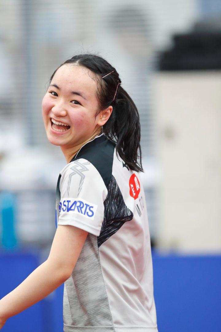 伊藤美誠が準々決勝に 対戦相手は波に乗る韓国選手【ITTFワールドツアー・香港オープン女子4日目の結果】