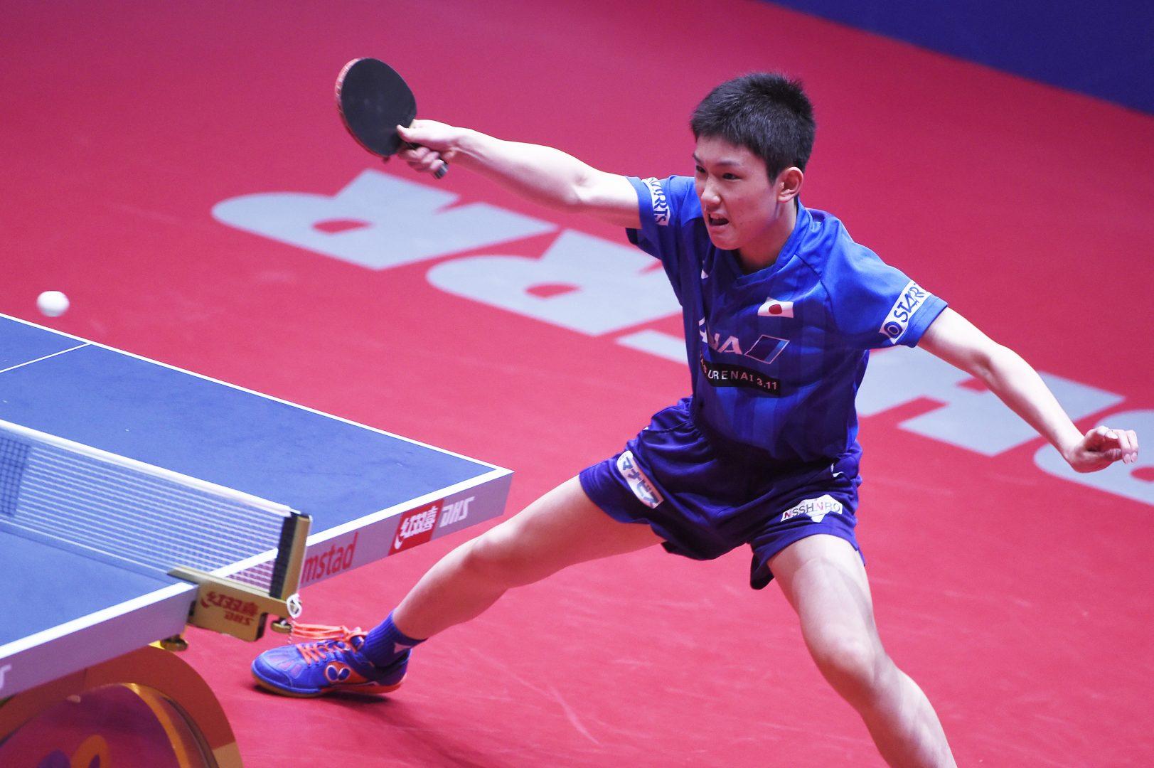 張本智和が元世界王者に圧勝【卓球・ITTF中国オープン男子4日目の結果】