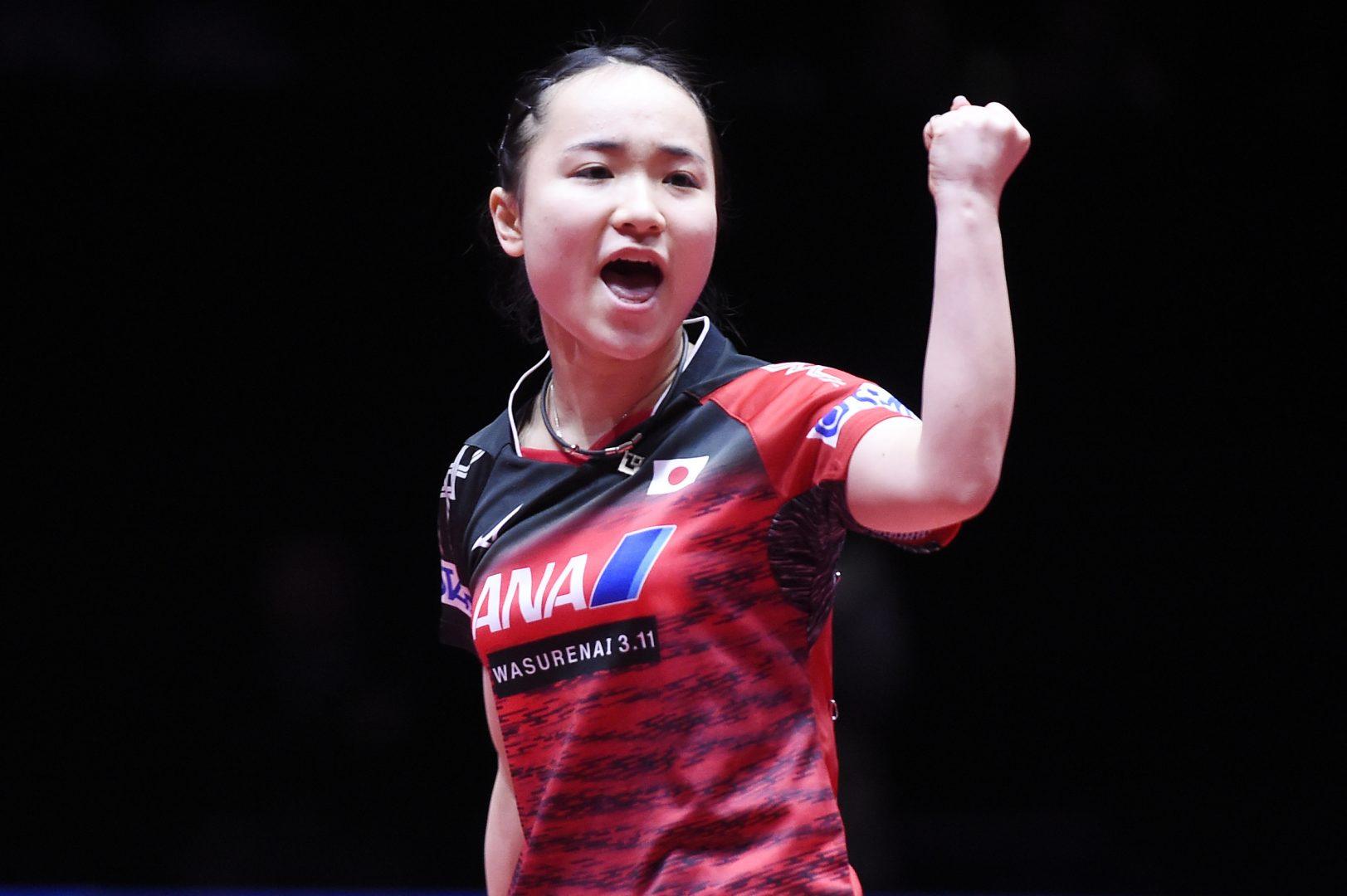 日本女子圧勝でメダル確定 南北合同コリアとの歴史的一戦へ弾み【世界卓球2018】