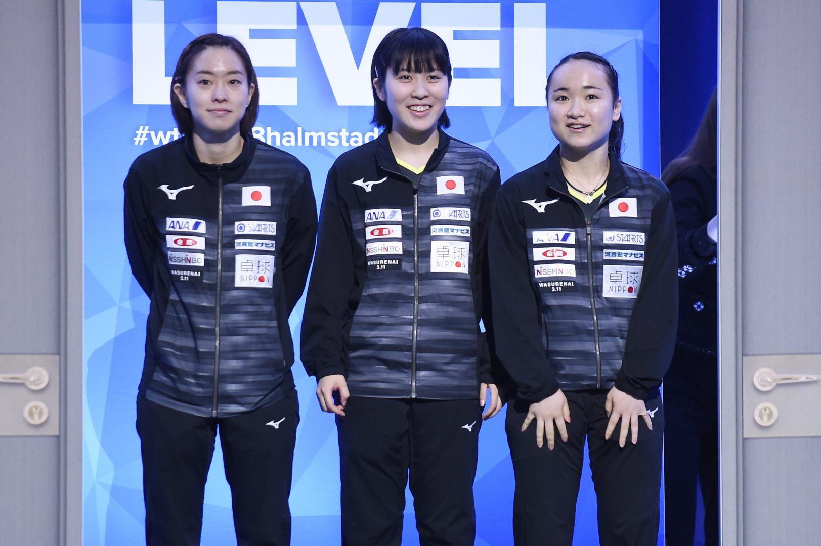 石川、伊藤、平野がTOP10をキープ|卓球女子世界ランキング(6月最新発表)