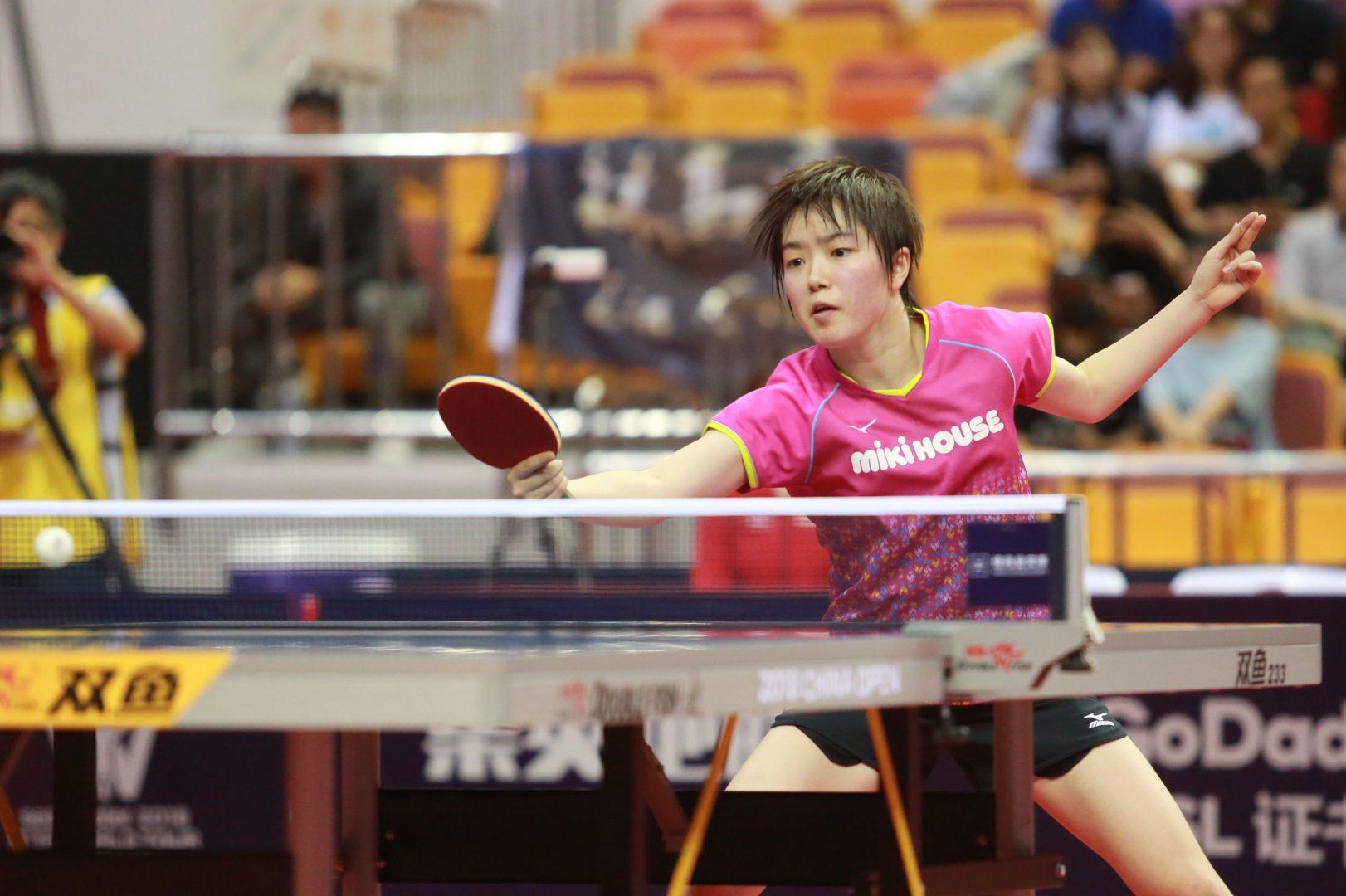 浜本由惟・芝田沙季が中国上位陣に勝利【卓球・ITTF中国オープン女子4日目の結果】