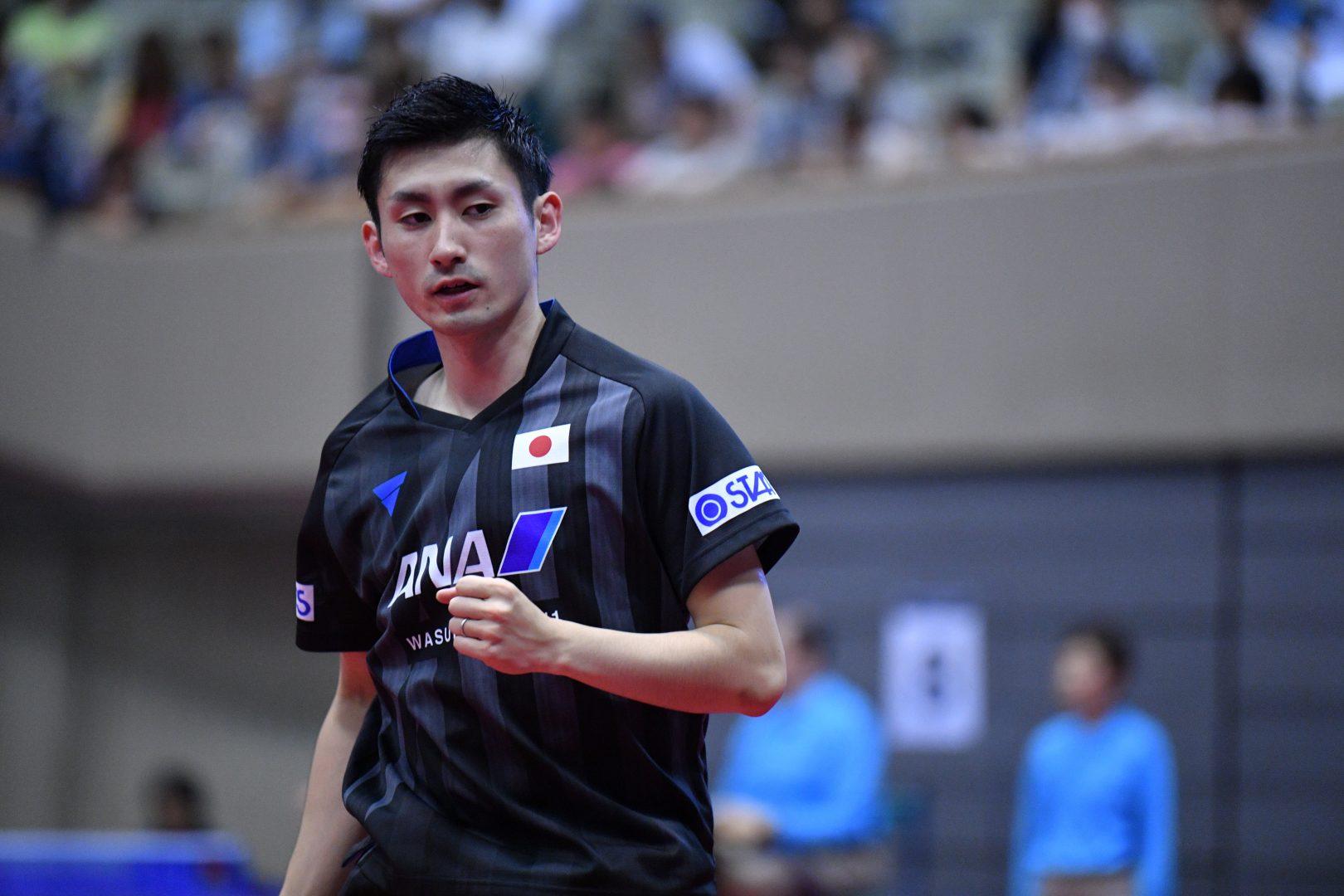 上田、松平が連勝で8強入り<ライオン卓球ジャパンOP荻村杯・男子3日目結果>