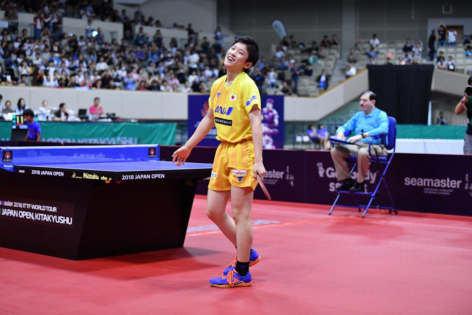 張本智和が自己最高8位、日本人トップに|卓球男子世界ランキング(7月最新発表)