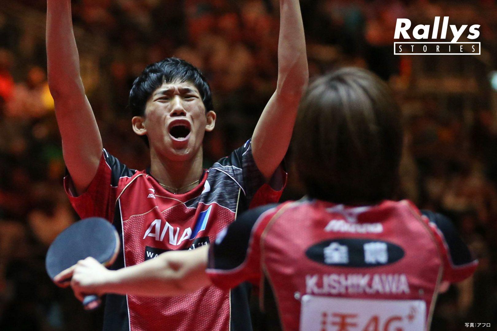 【卓球Photo Story】メダリストとして迎える2020年。吉村真晴を育んだ〈言葉〉