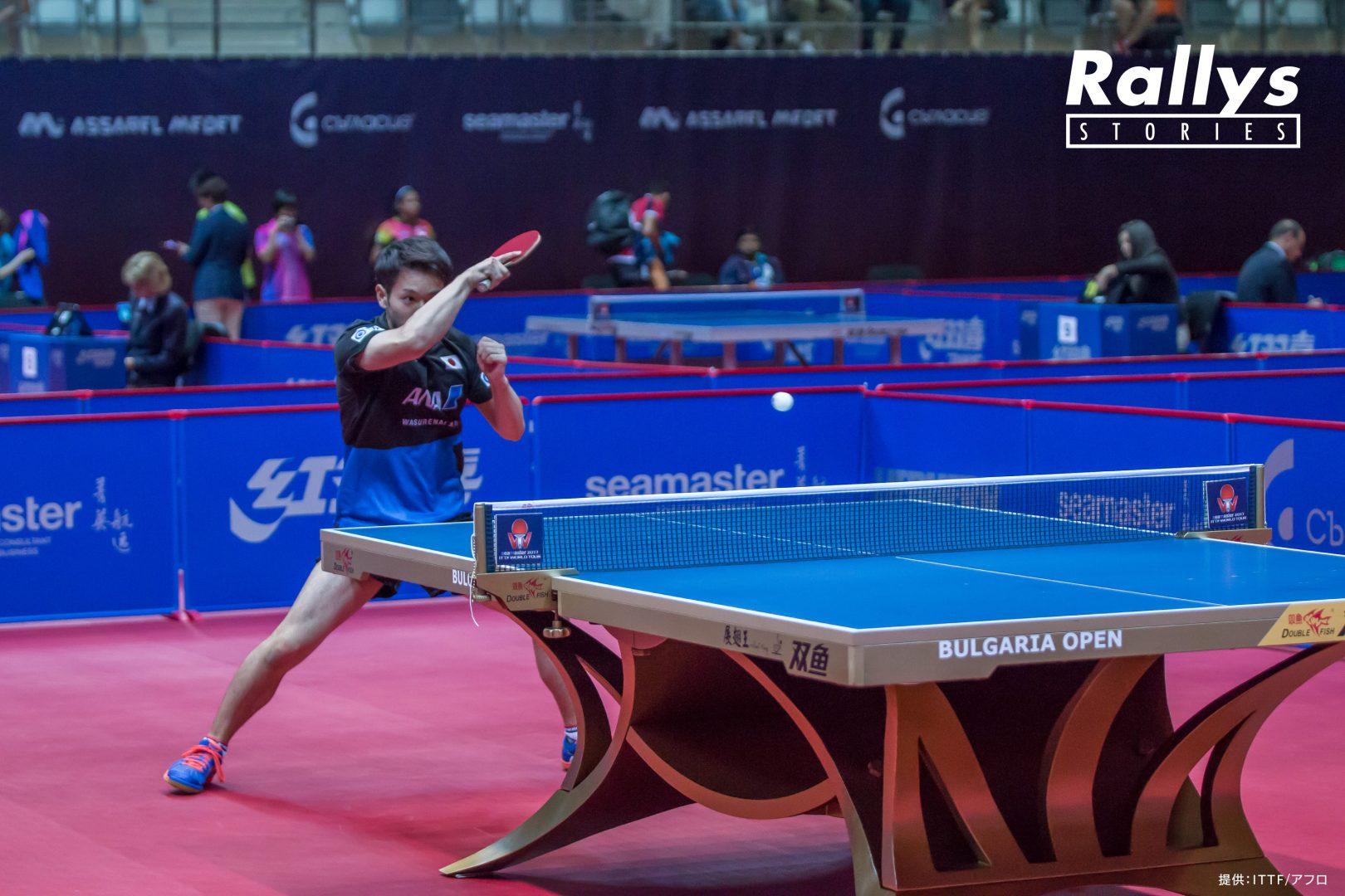 【卓球Photo Story】及川瑞基の軌跡。卓球少年から勝負師への覚醒