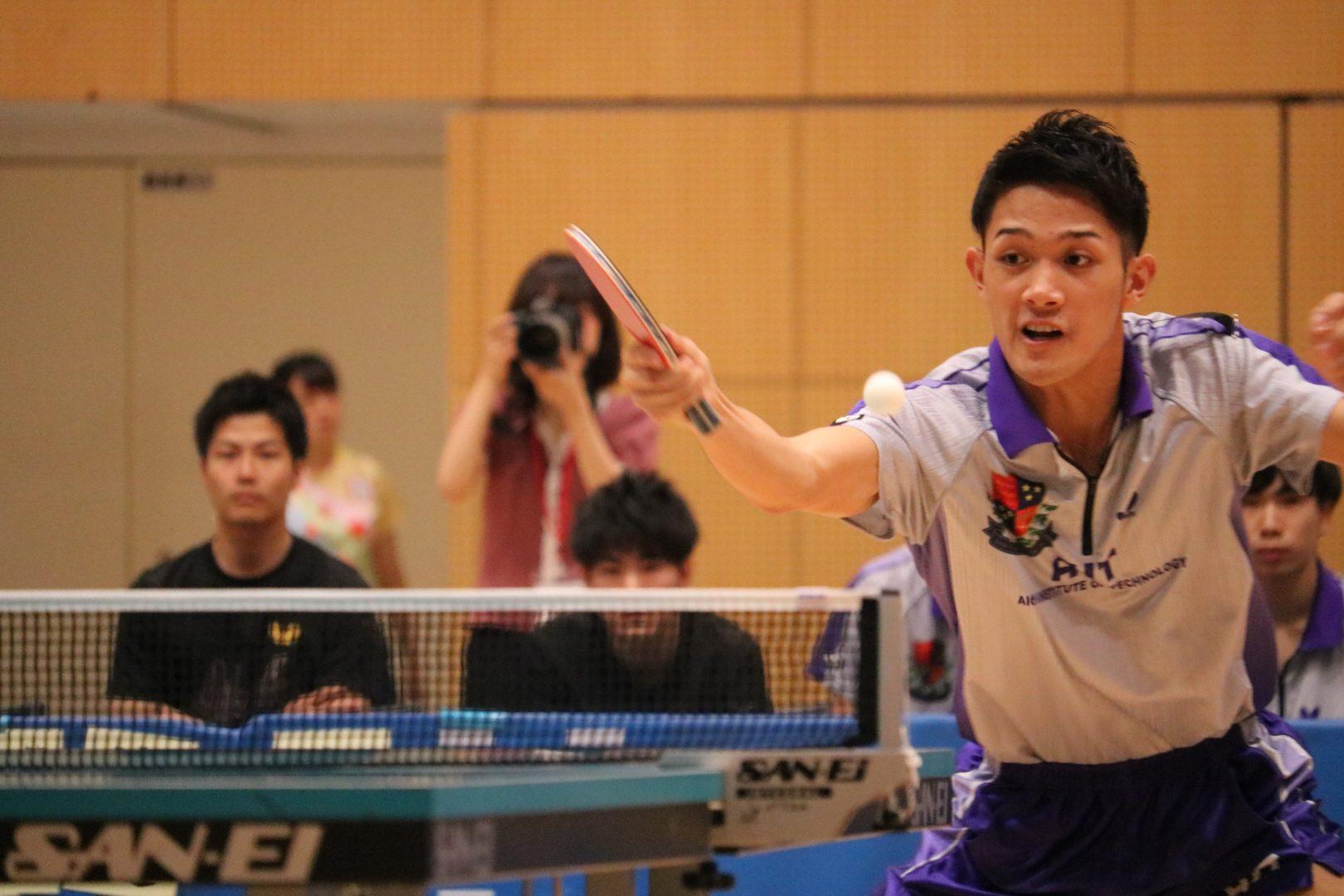 【卓球】吉村和弘が全日学選抜でV 「Tリーグで課題がより明確に」