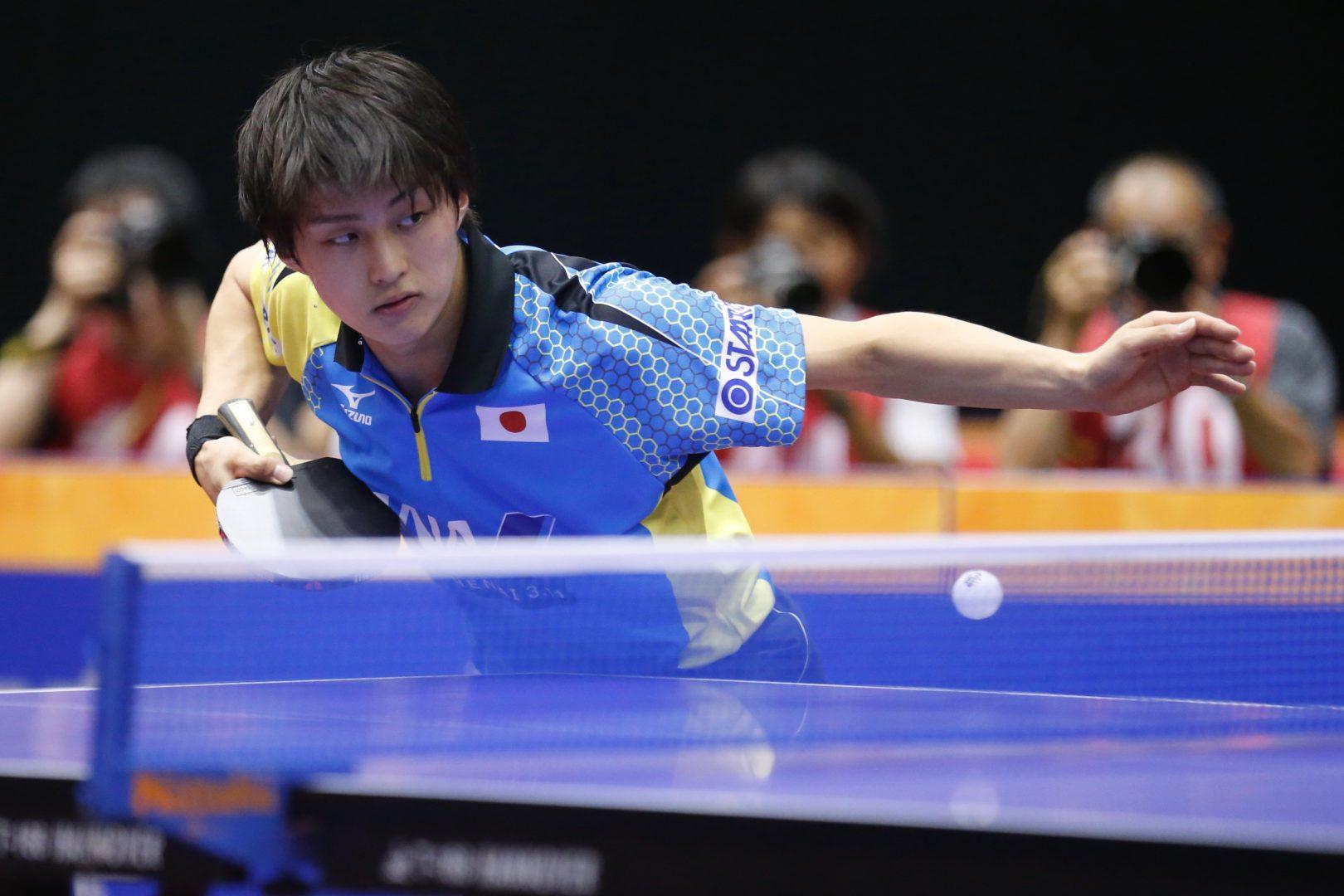 【卓球】U21男子で三部航平が準優勝<ITTF韓国オープン 2日目男子の結果>