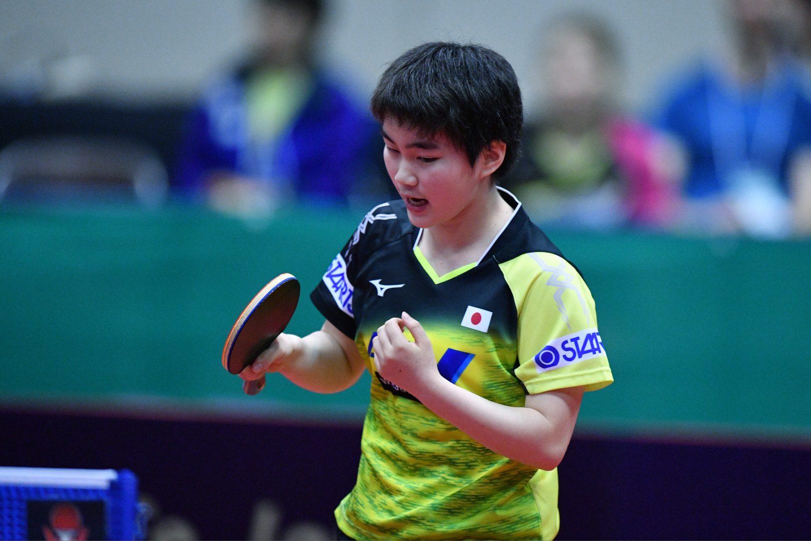 【卓球】神、大藤がシングルスで4強入り 女子ダブルス決勝は日本ペア対決に<スロベニアOP>