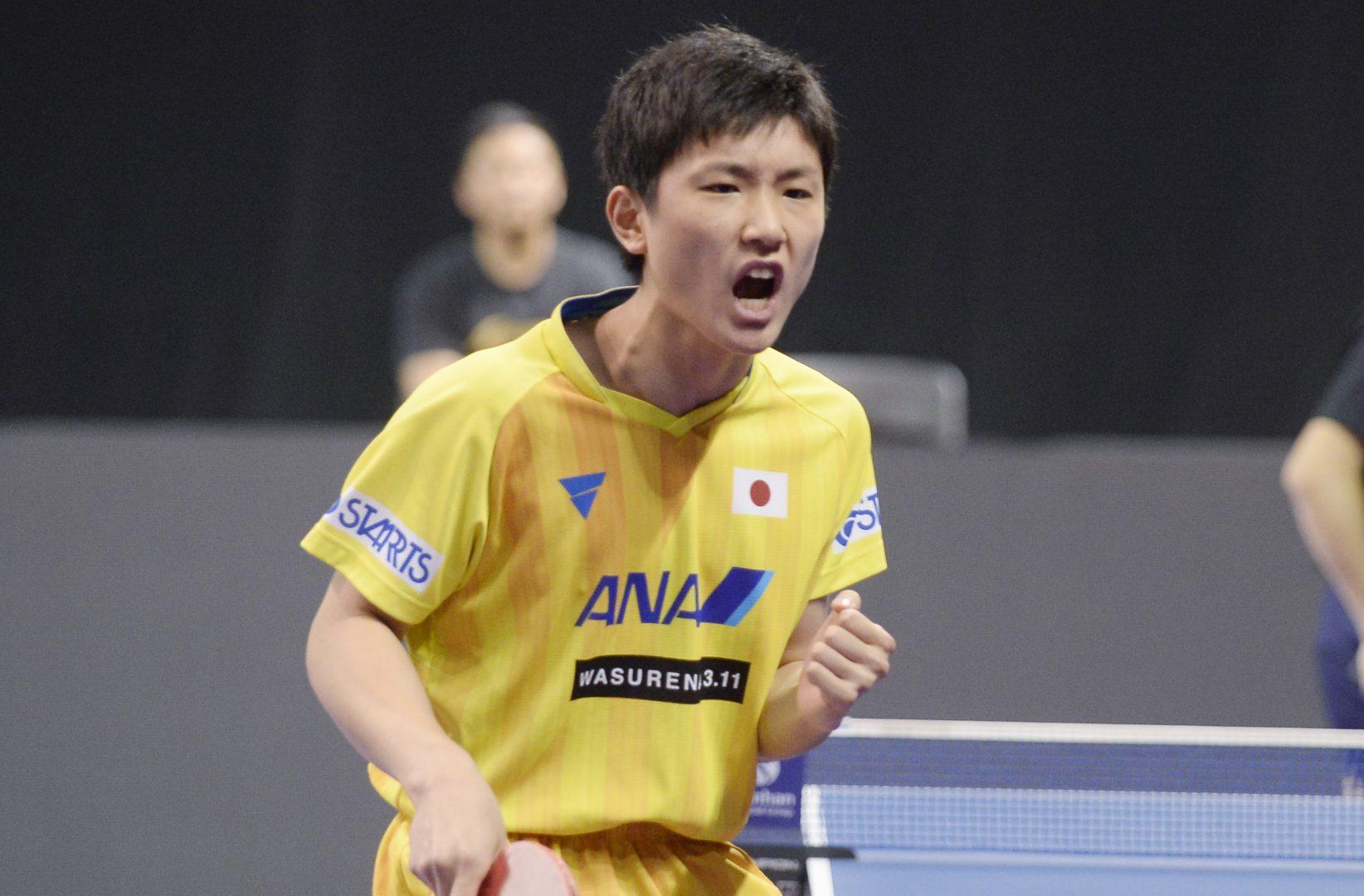 【卓球】張本智和・大島祐哉が準々決勝に進出 日本勢優勝なるか<ITTFオーストラリアOP 男子4日目の結果>