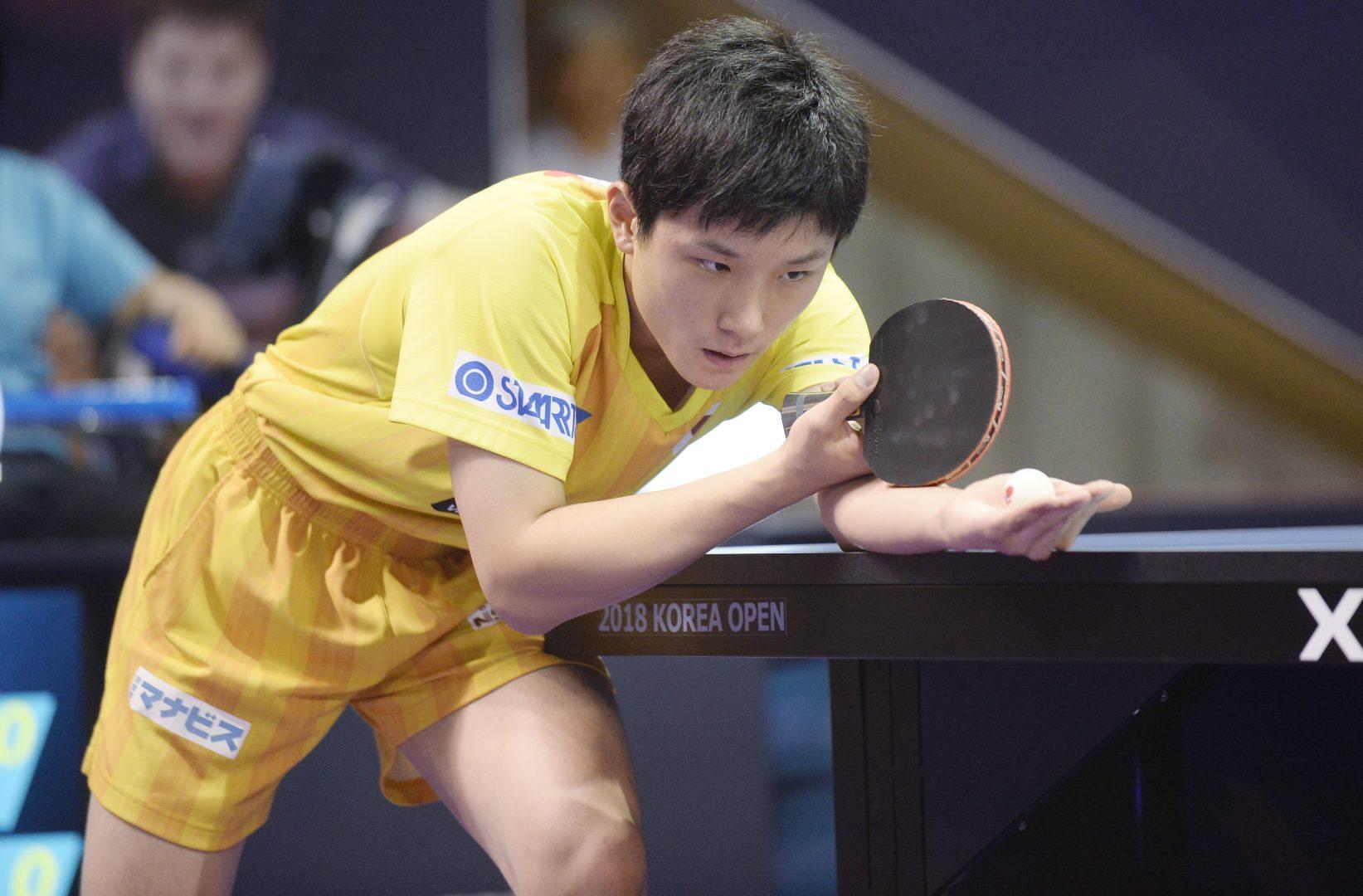 張本、大島が中国に阻まれベスト4<卓球・ITTFオーストラリアOP男子5日目>