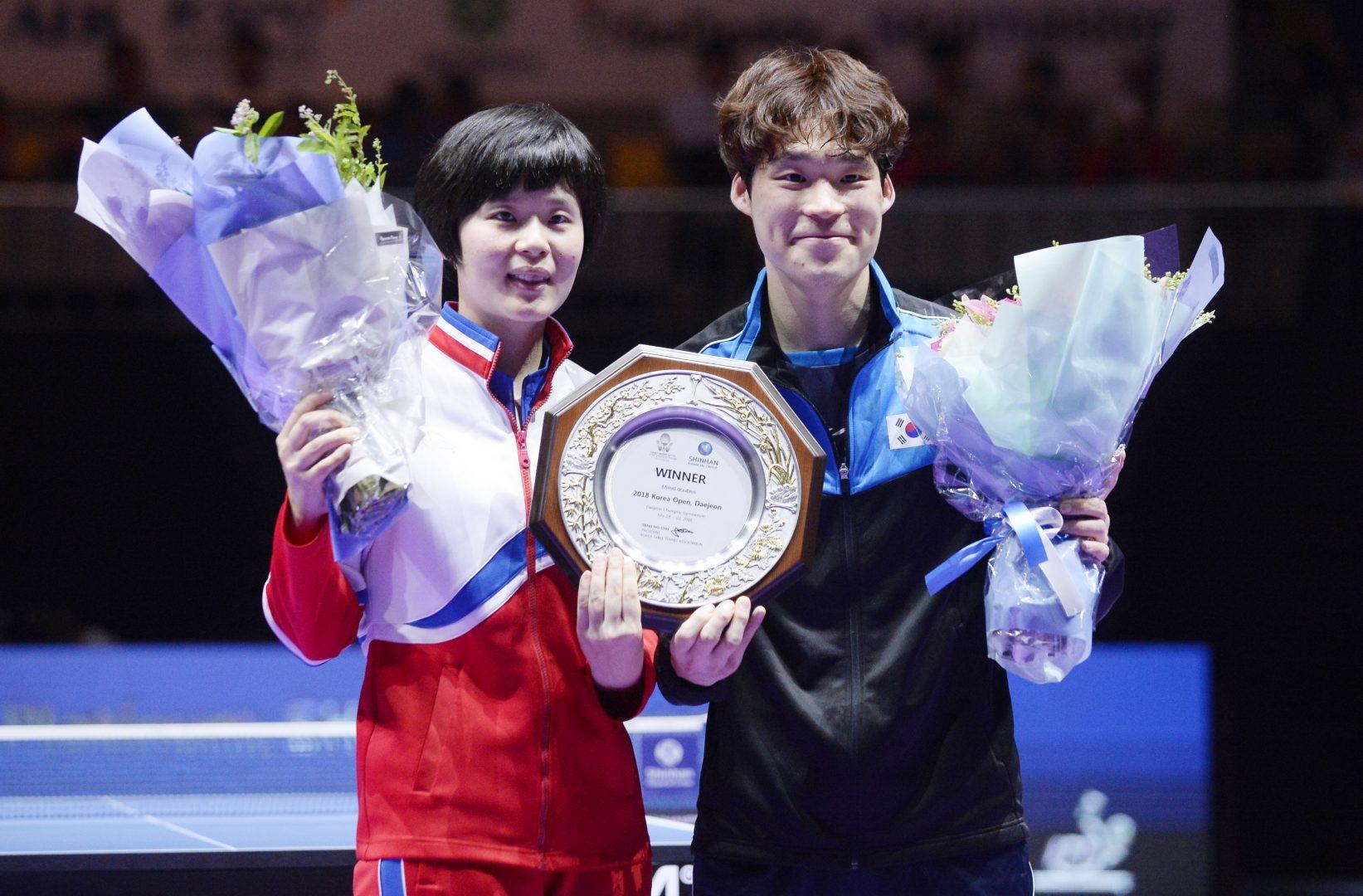 【卓球】水谷破った韓国・張禹珍が3冠達成 地元の声援を受けて<ITTF韓国オープン 6日目男子の結果>
