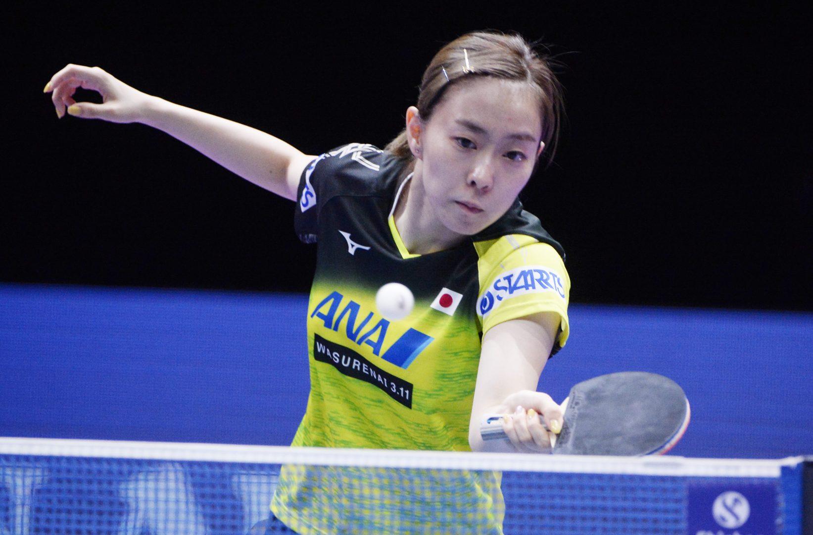 【卓球】石川佳純が日本人対決で全勝<ITTFオーストラリアOP 女子4日目の結果>