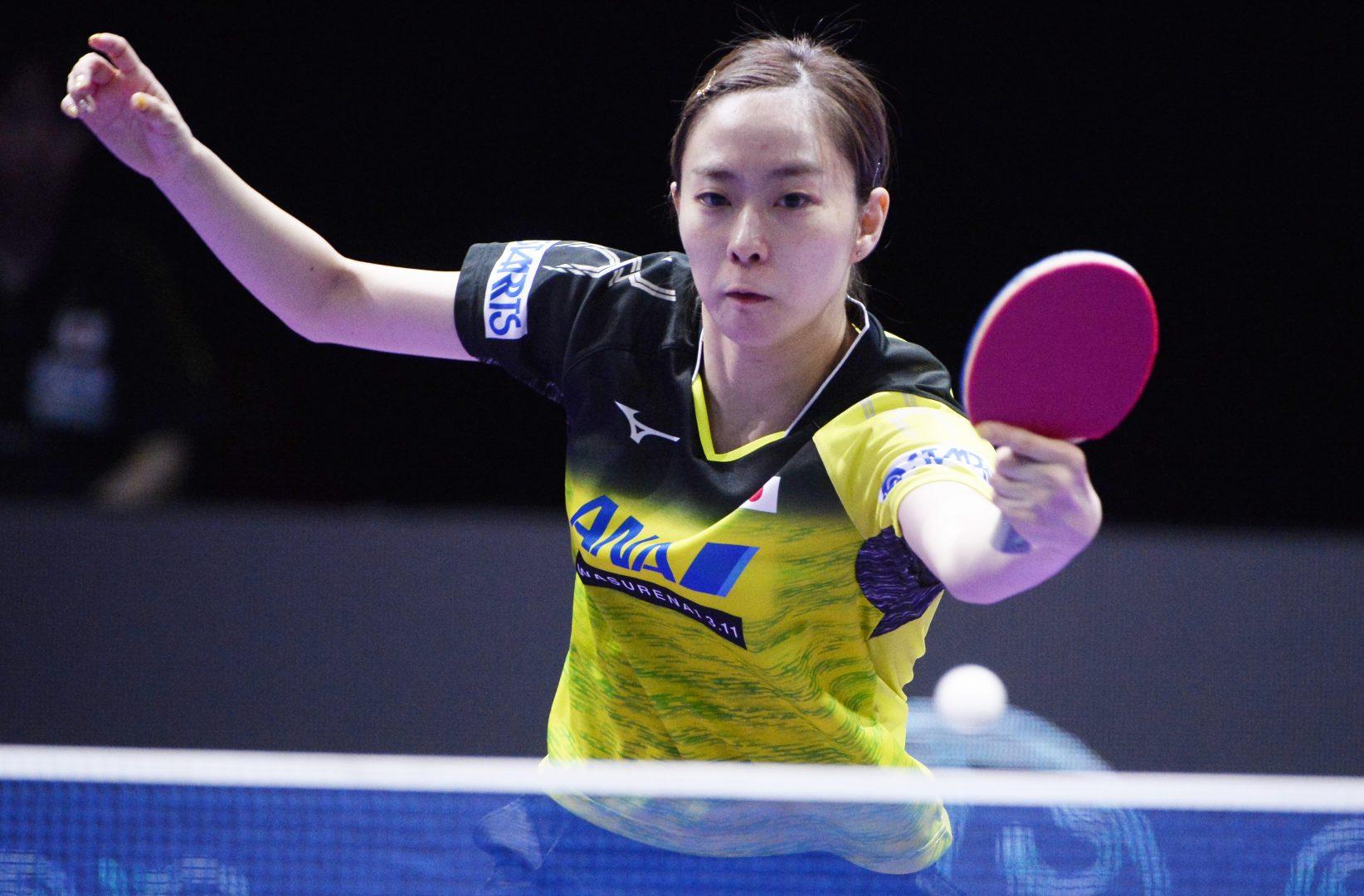 【卓球】石川佳純が3位に 大黒柱の意地見せる<ITTF韓国オープン 5日目女子の結果>