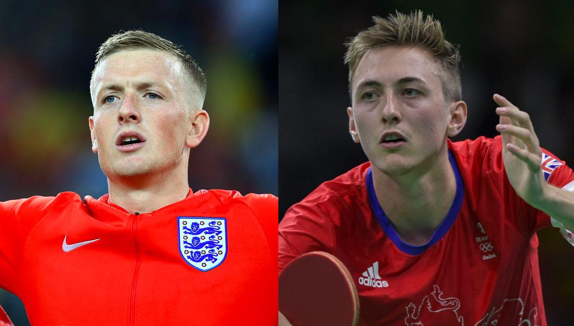 【イングランド代表】卓球のピッチフォードとサッカーのピックフォードが激似で話題に
