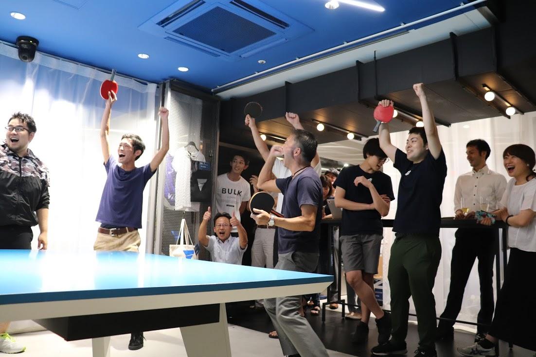 6社が白熱、ベンチャー対抗卓球大会、栄冠を掴んだのは?