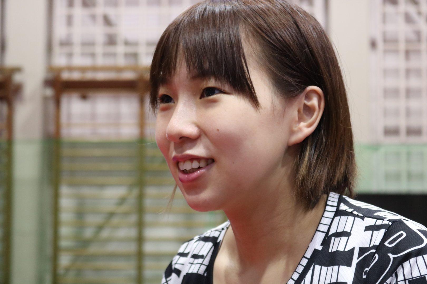 Tへ参戦。大阪の地震で変わった松平志穂の「卓球観」【Tリーグ】