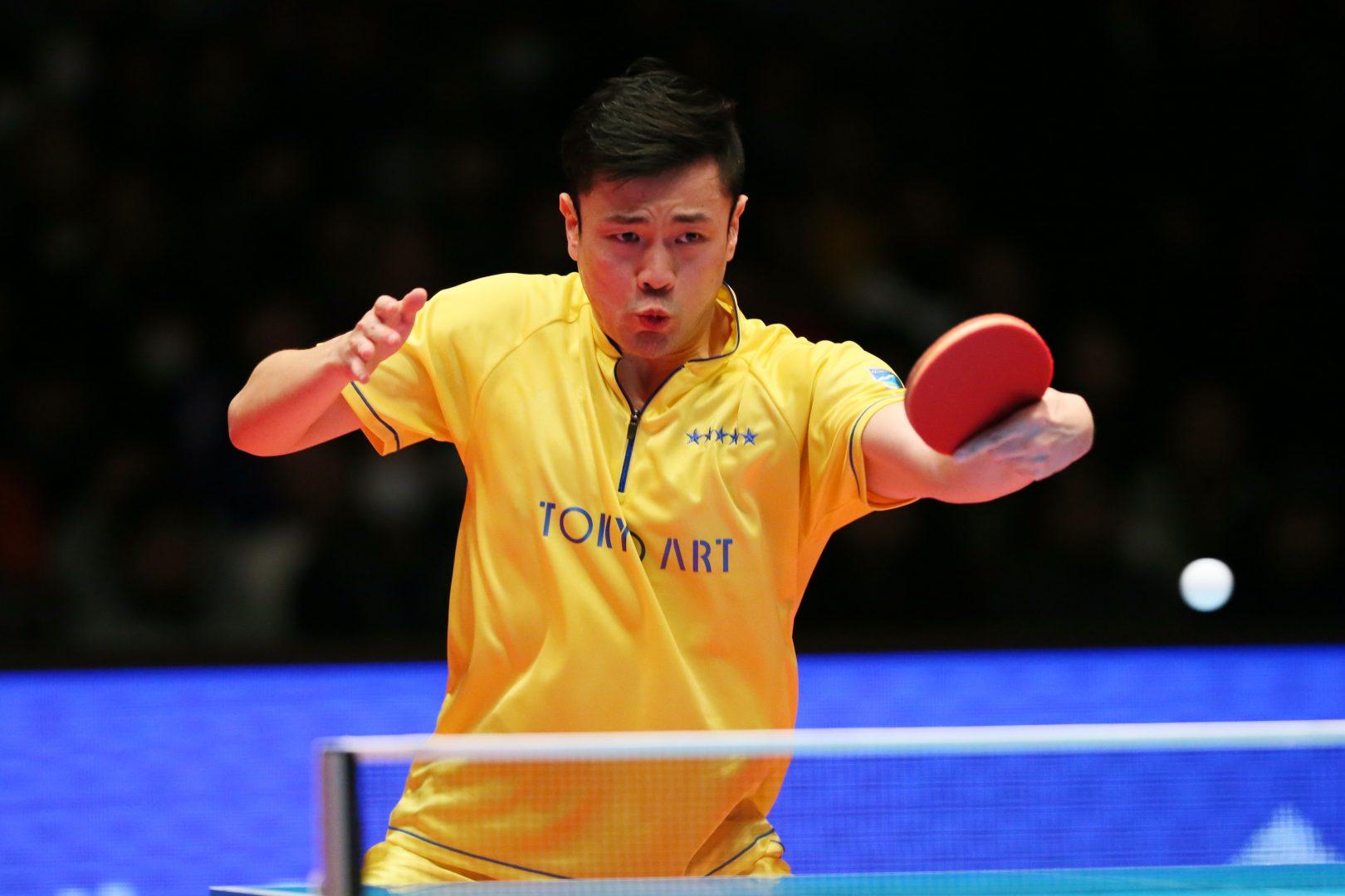 元卓球日本代表、張一博が所属実業団の東京アートを退社