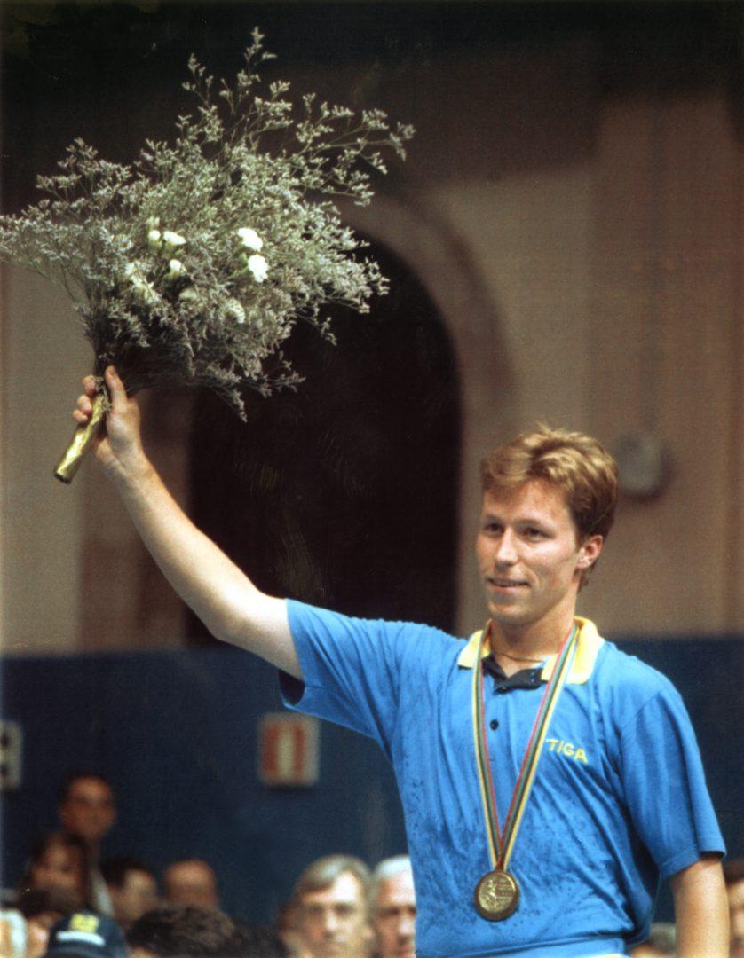 いまだ卓球ファンを魅了し続けるファンタジスタ、ワルドナー