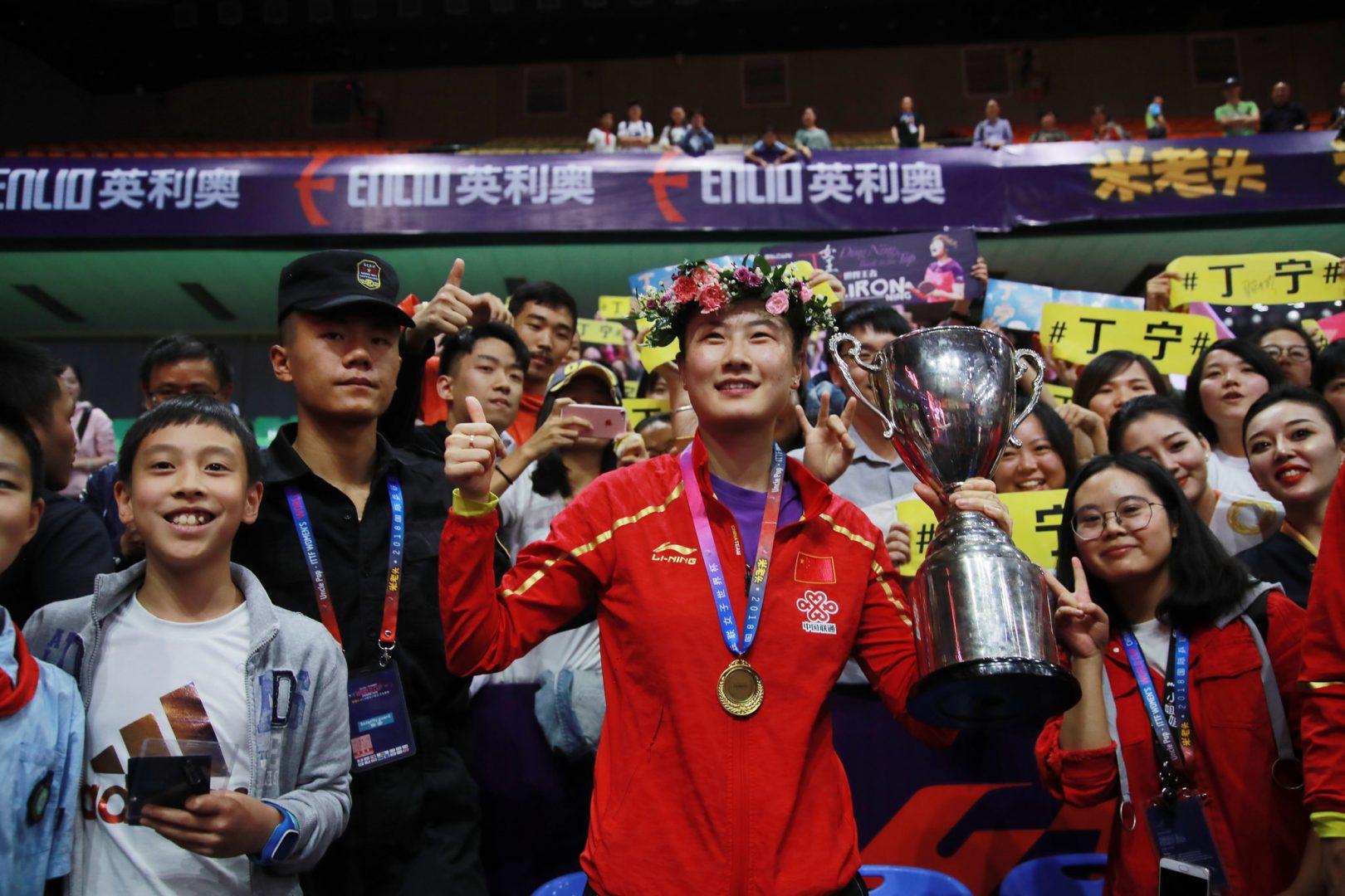 【卓球】丁寧が新ランキングシステムで最高の2位|女子世界ランキング(10月最新発表)