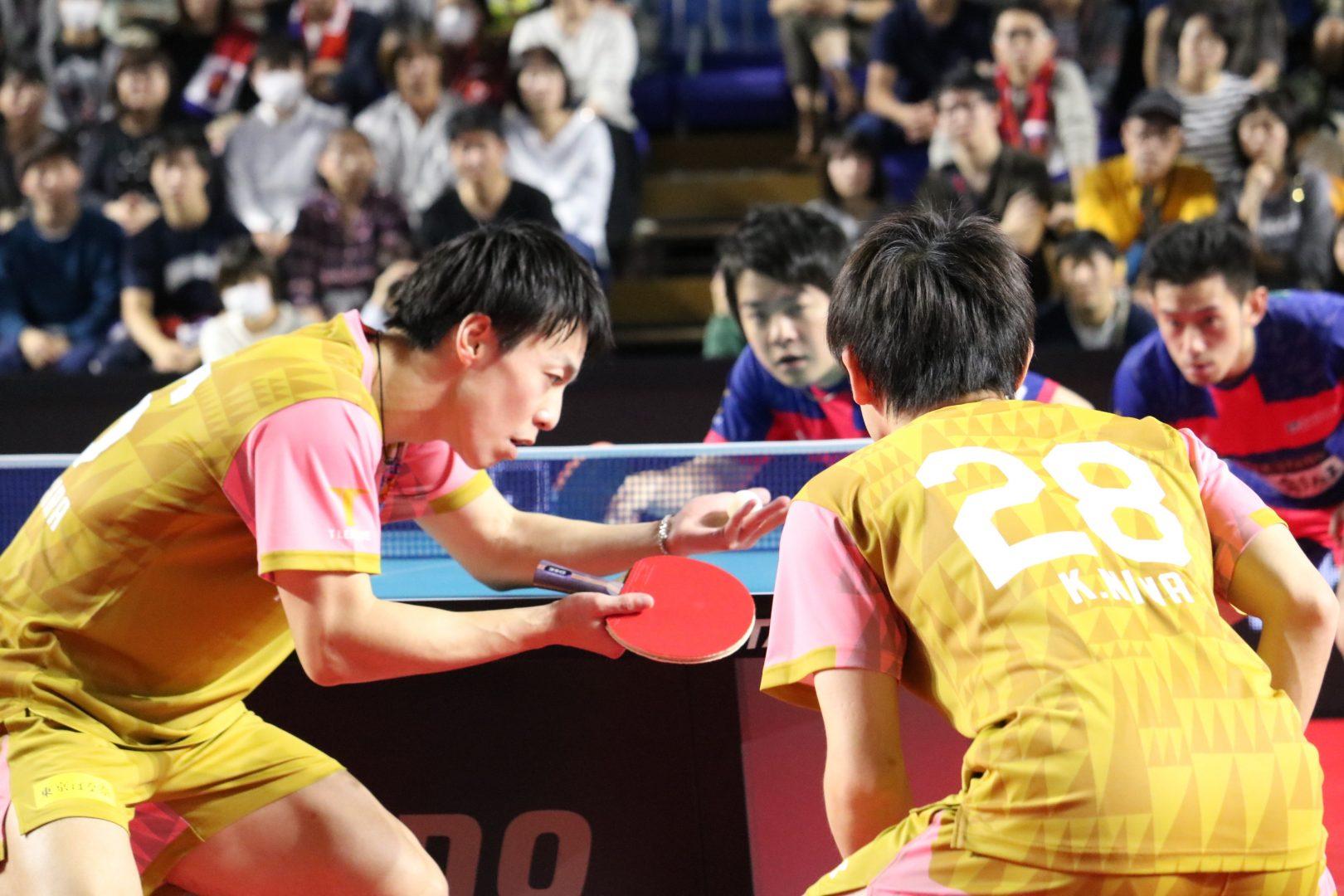 【卓球・Tリーグ】琉球・松平賢二、名古屋での彩たま戦を前に朝から味噌カツで縁起を担ぐ