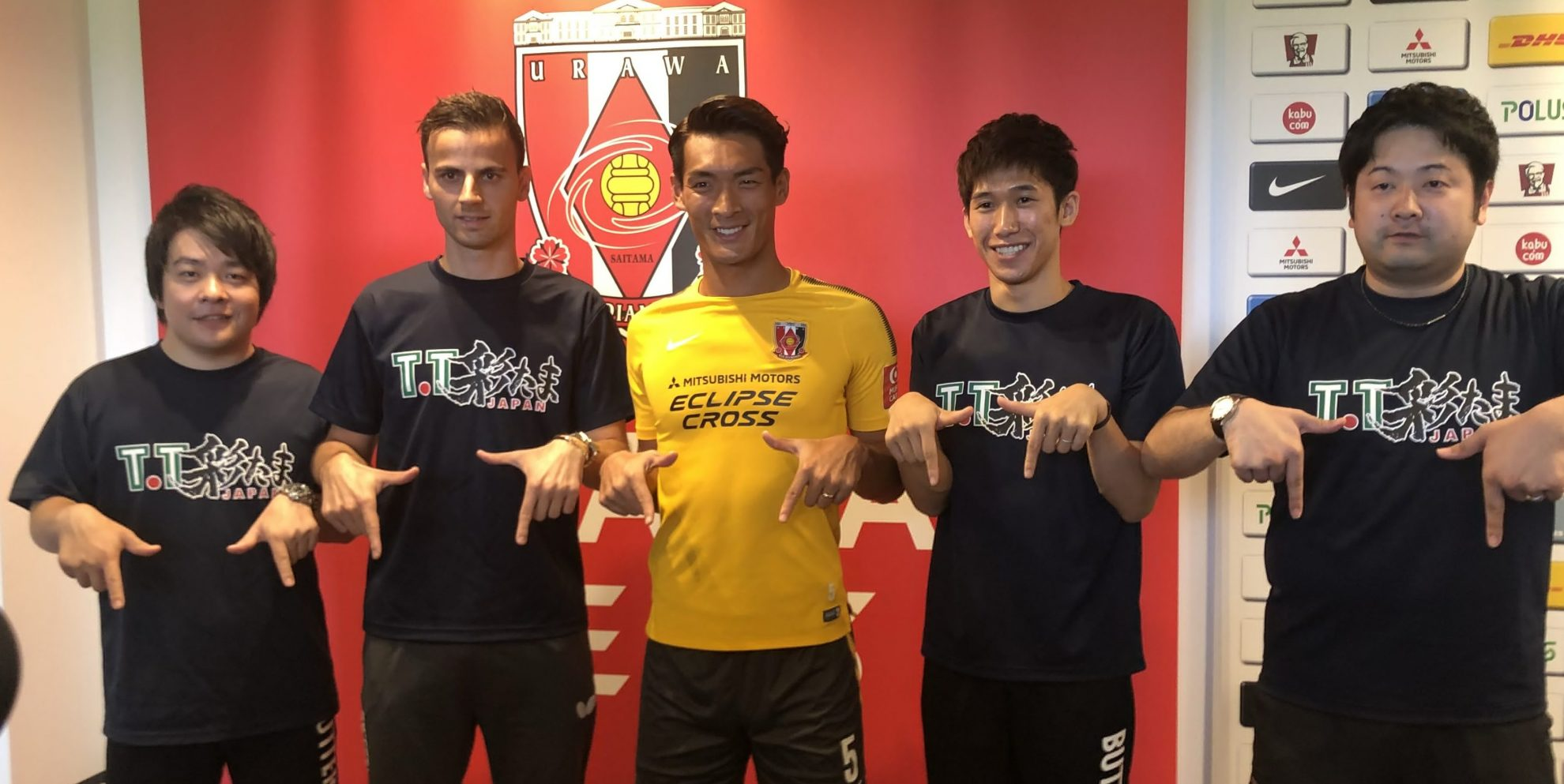 【卓球・Tリーグ】T.T彩たまが浦和レッズを訪問 サッカー日本代表・槙野が伝授したリーグの盛り上げ方とは